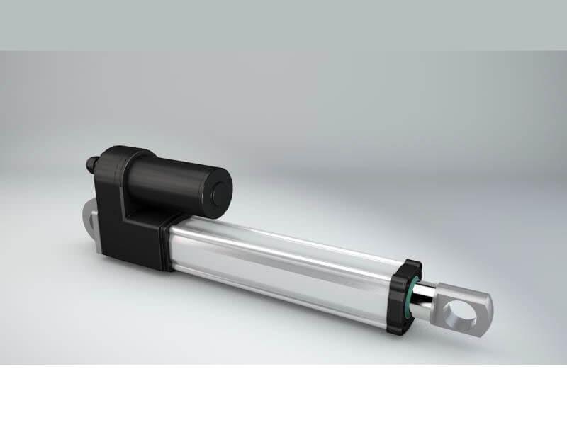 solar tracker linear motor