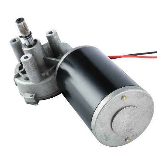 DC motor with gearbox