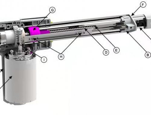 What is the linear actuators construction?