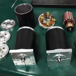 heavy duty DC motors