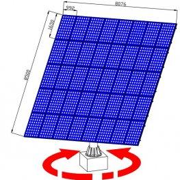 low price solar tracker